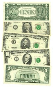 US Currency- Building Wealth