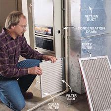 DIY Repairs- Change furnace filter