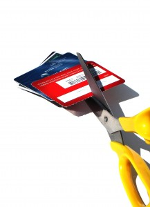 get rid of those old credit cards - they can hurt your credit score