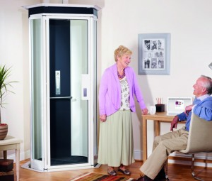 Those whith ,obility problems can be assisted with a home lift by Stannah