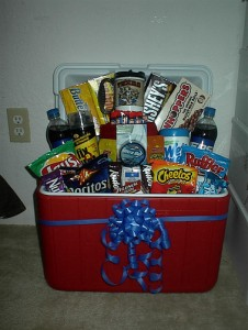 Gift baskets offer almost endless opportunities for creativity