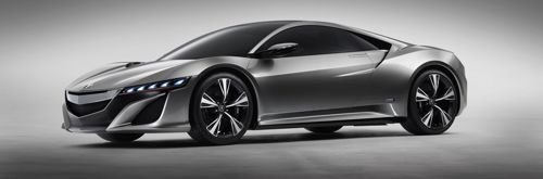 2013 Acura NSX Supercar Will Feature Cutting-Edge Performance Hybrid Technology