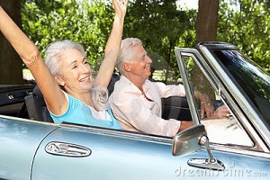 senior citizens driving
